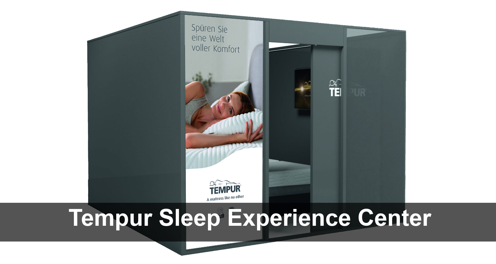 Tempur Sleep Experience Center Schlafkabine